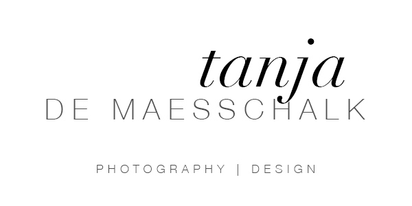 Tanja de Maesschalk // Photography – Design Logo