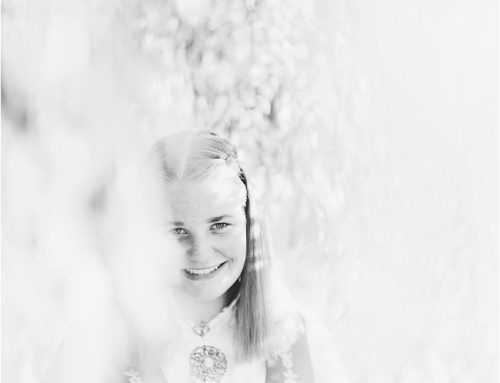 Kristine – konfirmasjonsfotografering i Asker